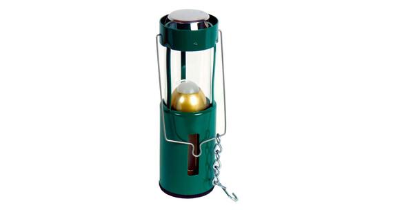 UCO Farol de vela - Iluminación para camping - aluminio gris/blanco